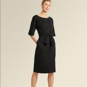 DKNY tie front dress